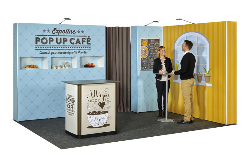 Expolinc Pop Up Magnetic - Cafe