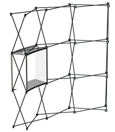 Faltdisplay Expand 2000 Struktur