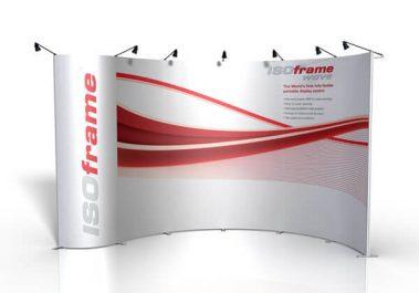 ISOframe Wave - Messewand (großs)