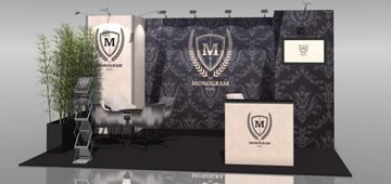 Messestand Murus Fabric