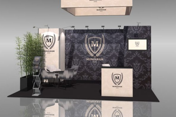 Mobiler Messestand Murus Fabric