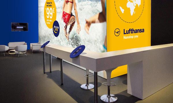 PIXLIP Megawall - Lufthansa