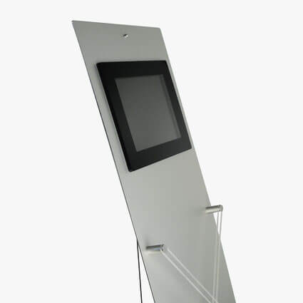 "Aufsteller velo Media 8"" LCD Display"
