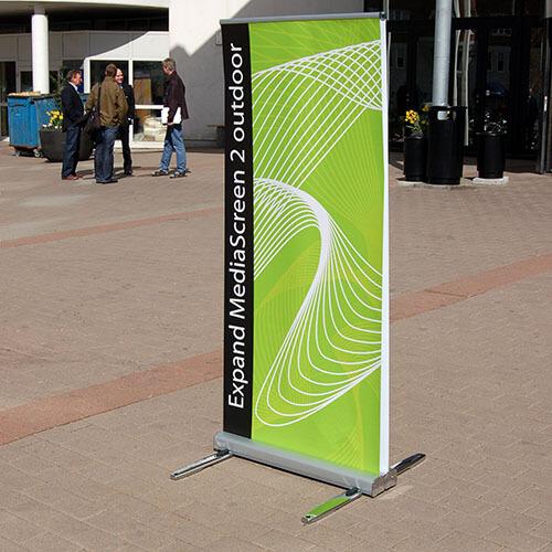Expand MediaScreen 2 outdoor beidseitig