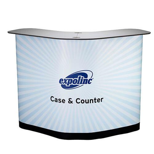 Expolinc Case & Counter mit Verkleidung