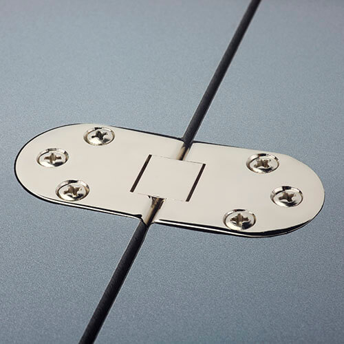 Expolinc Case & Counter Scharnier Tischplatte Messing