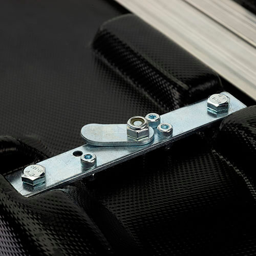 Expolinc Case & Counter Frontansicht Verriegelung Tischplatte
