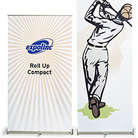 Expolinc Roll-Up Compact 2 Grössen