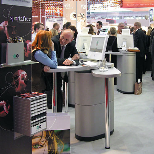 Penta Looop Messetheke Messestand