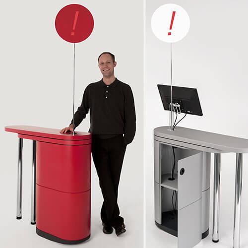 Penta Looop Messetheke Zubehör Displayhalter