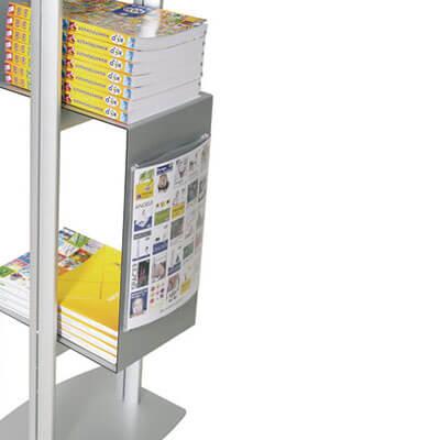 Prospektständer cubic personalisiert