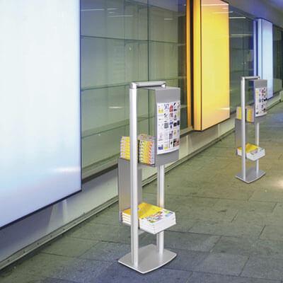 Prospektständer cubic