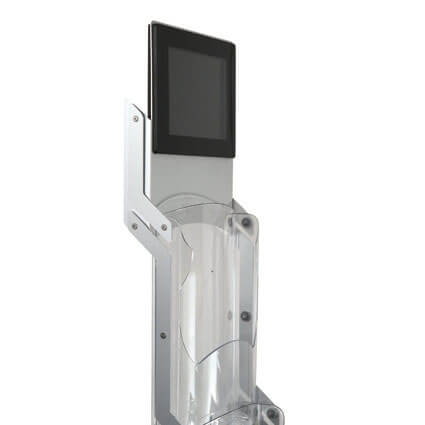 Prospektständer Zip Media LCD Display