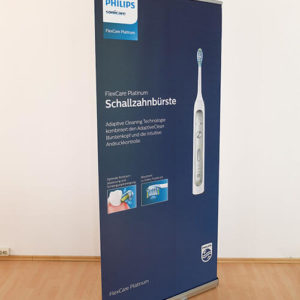 Roll Up Base mit Frontlit Grafik