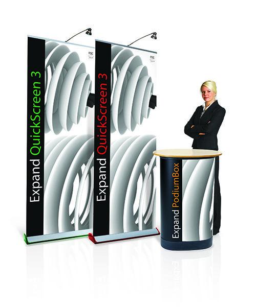 Roll Up Expand Quickscreen 3 Wechselkassette
