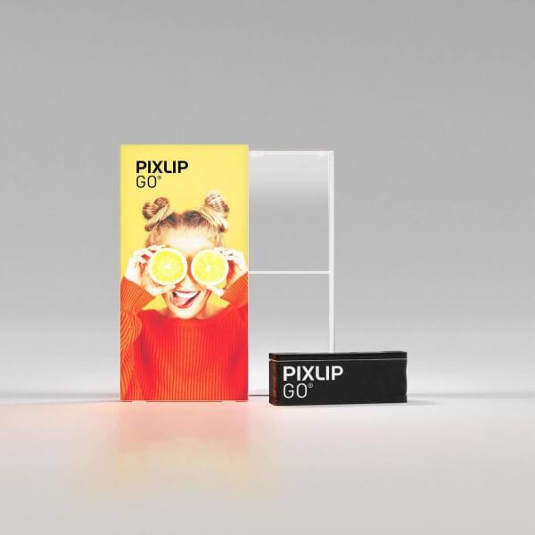 PIXLIP GO LED Leuchtrahmen 100x200 cm