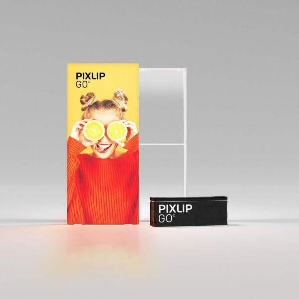 PIXLIP GO LED Leuchtrahmen 100x225 cm