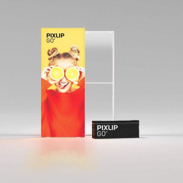 PIXLIP GO LED Leuchtrahmen 100x250 cm