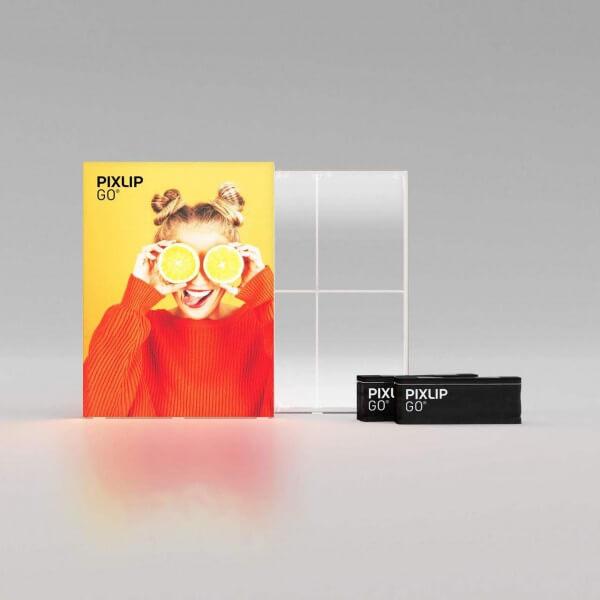 PIXLIP Go LED Leuchtrahmen 185x225 cm