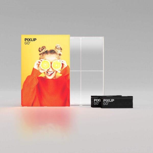 PIXLIP Go LED Leuchtrahmen 185x250 cm