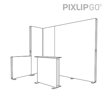 PIXLIP GO Messestand ES32020 scribble