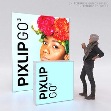 PIXLIP GO Messestand HL20