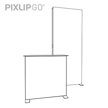 PIXLIP GO Messestand HS10 scribble