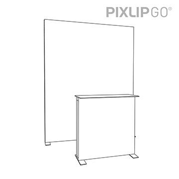 PIXLIP GO Messestand HS20 scribble