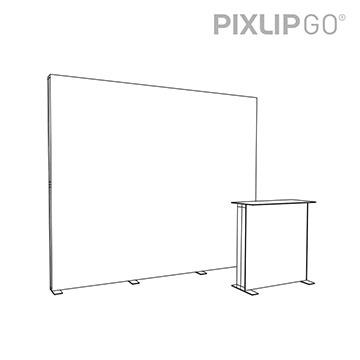PIXLIP GO Messestand HS30 scribble