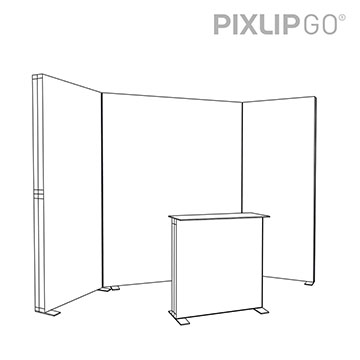 PIXLIP GO Messestand RS3010 scribble