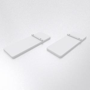 PIXLIP-GO Zubehör Fussplattenset einseitig