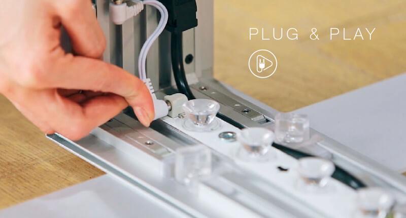 BIG LEDUP LED Leuchtrahmen Plug & Play