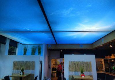 Leuchtrahmen Flatpanel Deckenmontage