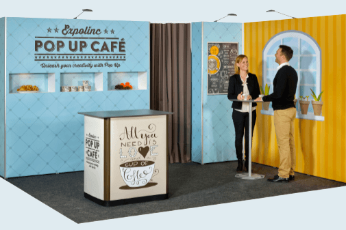 Mobiler Messestand Expolinc Pop Up Magnetic