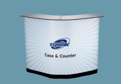 Expolinc Case & Counter Messetheke